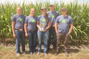 Clayton County #2 wins third place at 2017 Iowa Crop Scouting Competition