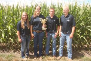 Kuhlman seed wins first place at 2017 Iowa Crop Scouting Competition