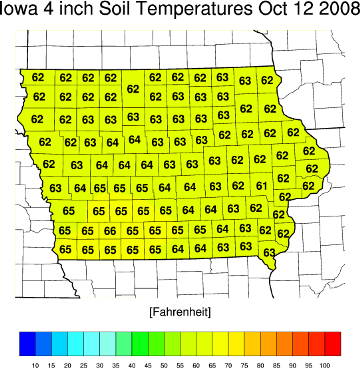 Watch the soil temperature integrated crop management for Soil temperature map