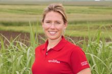 Emily Heaton, biomass crop agronomy