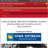 Soybean Planting Decision Tool